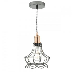 The GIN0167 cage pendant light fitting