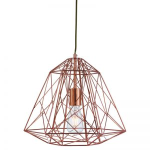The 7271CU cage pendant light fitting