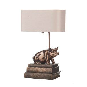 The Horrace table lamp by David Hunt
