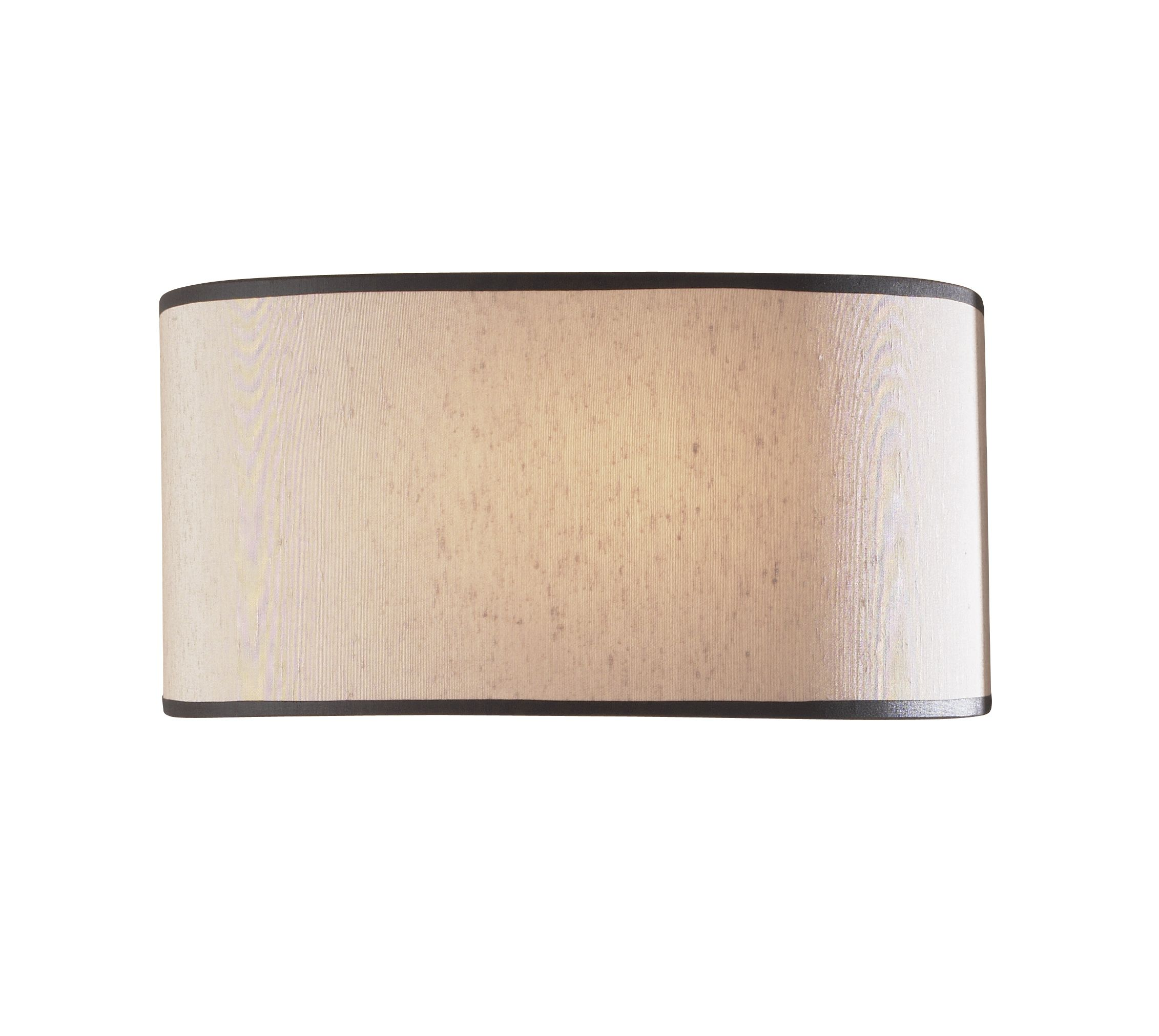 Double Insulated Class 2 Wall Lights : Ascott 1-light Beige shade Finish Wall Light ASC071 Class 2 Double Insulated