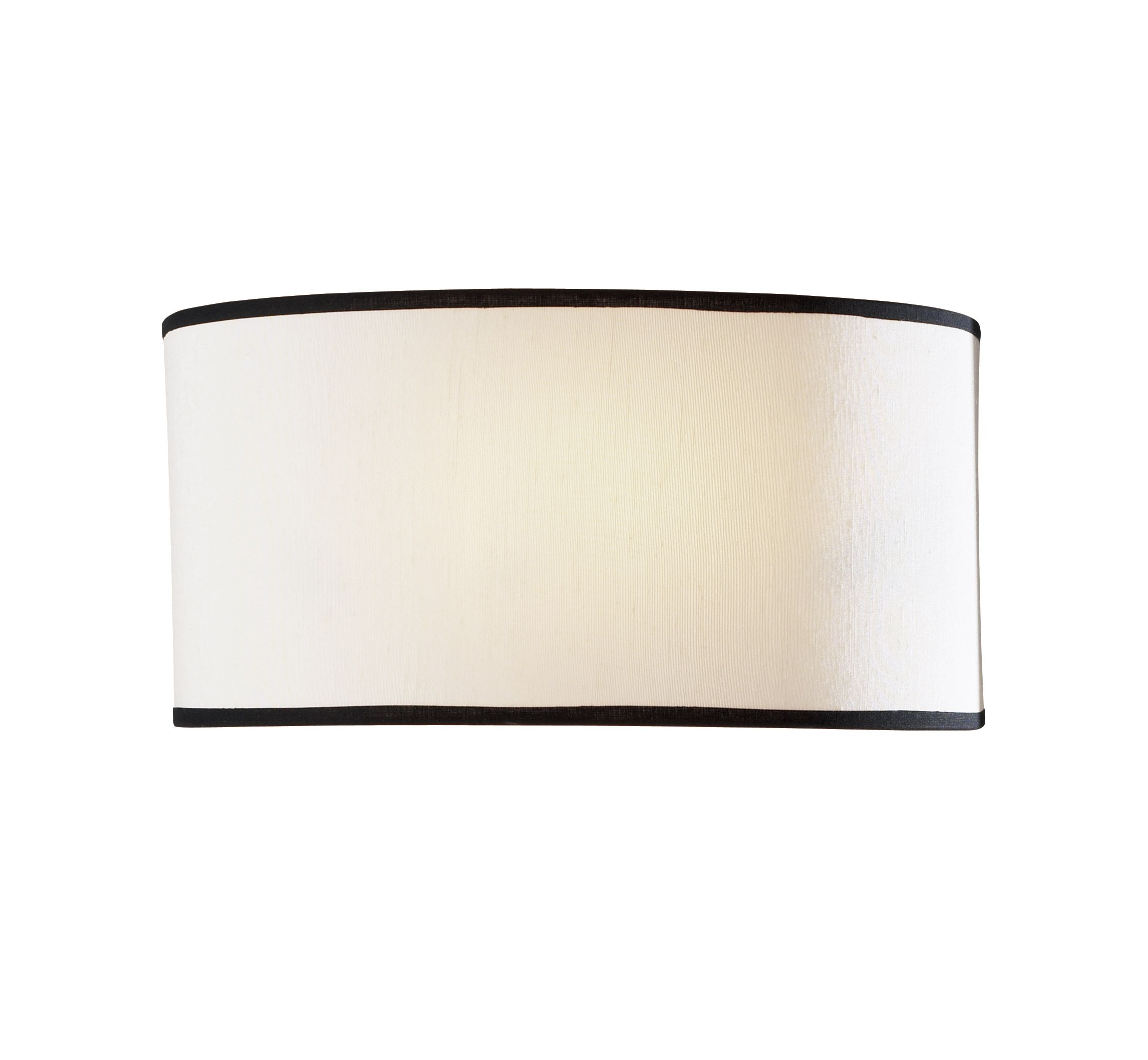 Double Insulated Class 2 Wall Lights : Ascott 1-light Cream shade Finish Wall Light ASC0733 025178 Class 2 Double Insulated