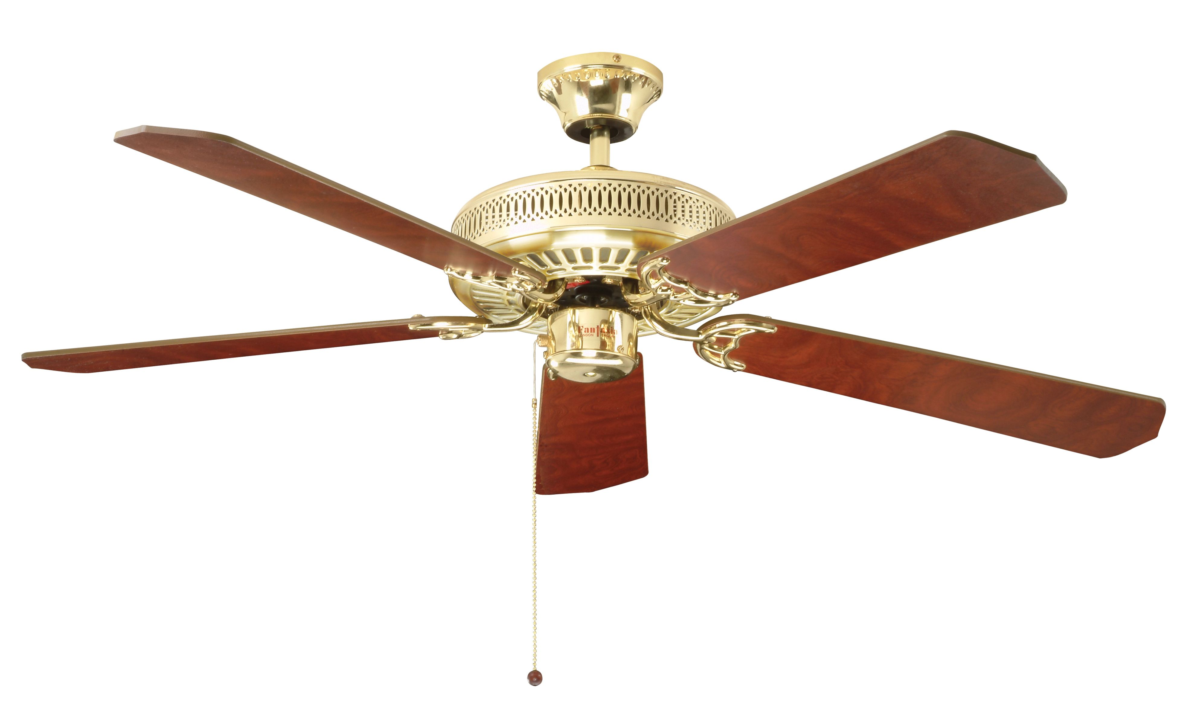Fantasia Classic 52 Polished Brass Ceiling Fan 110019