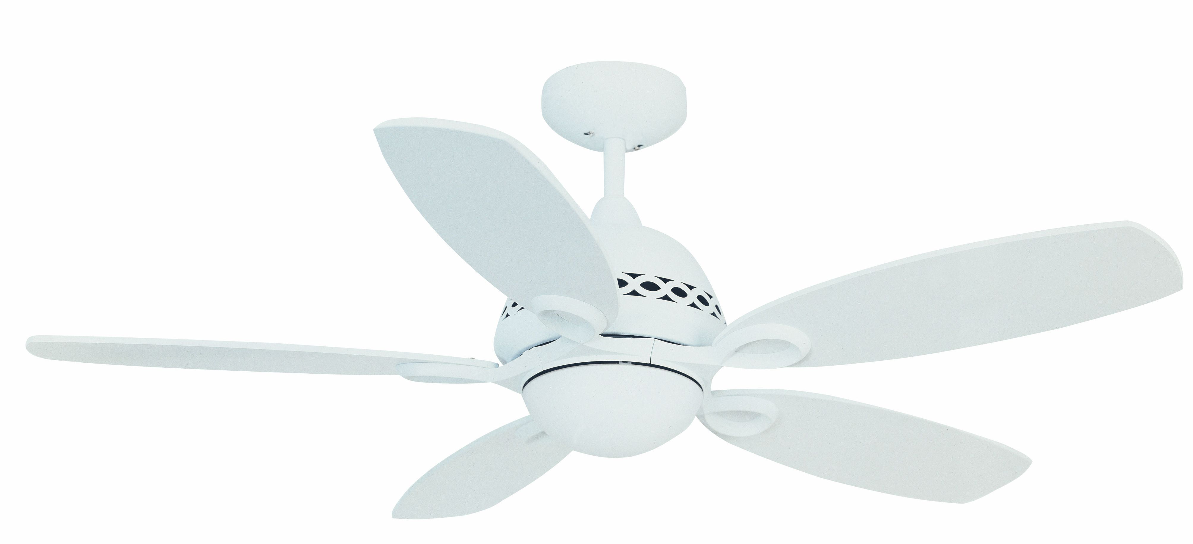 Fantasia Phoenix 42 Matt White Ceiling Fan Remote Control