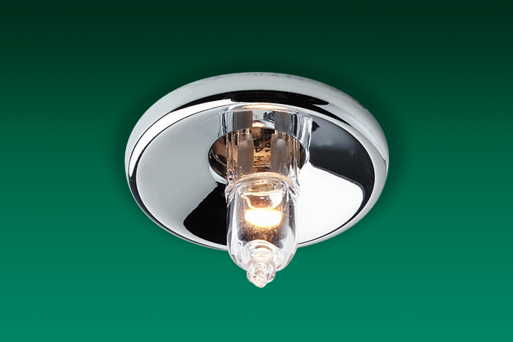 Firstlight LV1350CH Chrome Low Voltage Mini Halo Recessed