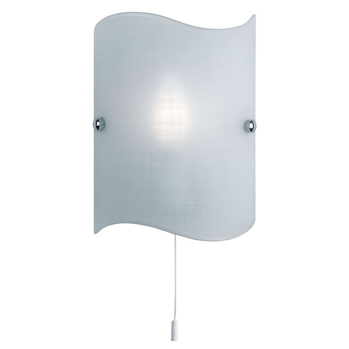 Opal Glass Switched Wall Light 2017-WB