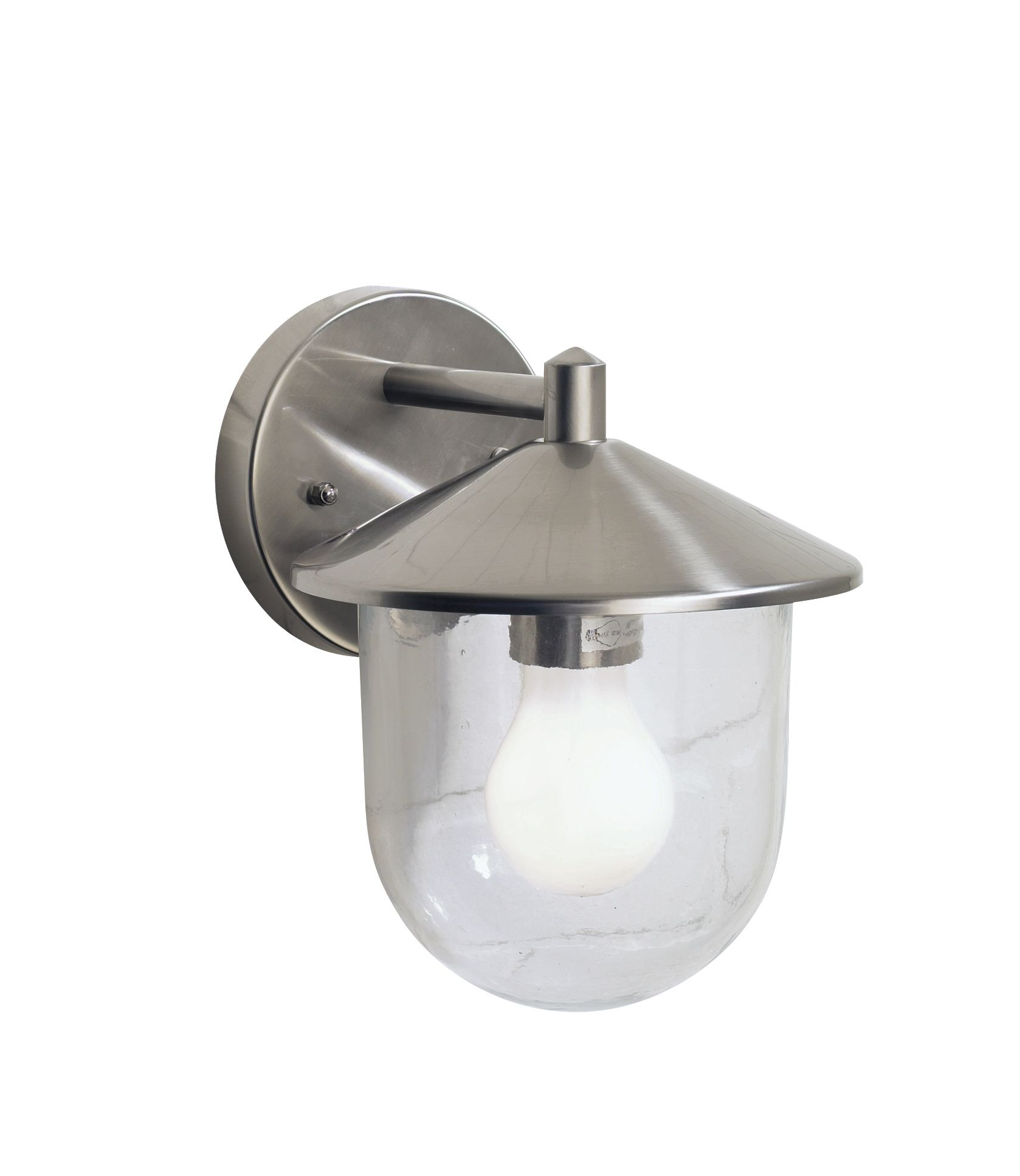 Poole 1 Light Stainless Steel Double Insulated Outdoor