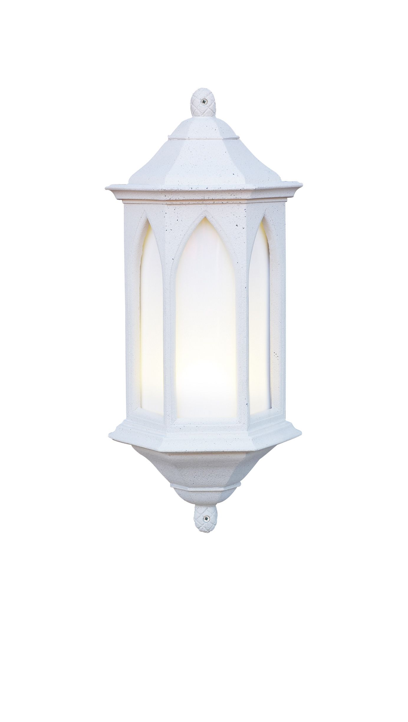Low Energy Outdoor Wall Lights : York 1-light Low Energy Outdoor Wall Light Stone finish Small YOR34 LE 089222