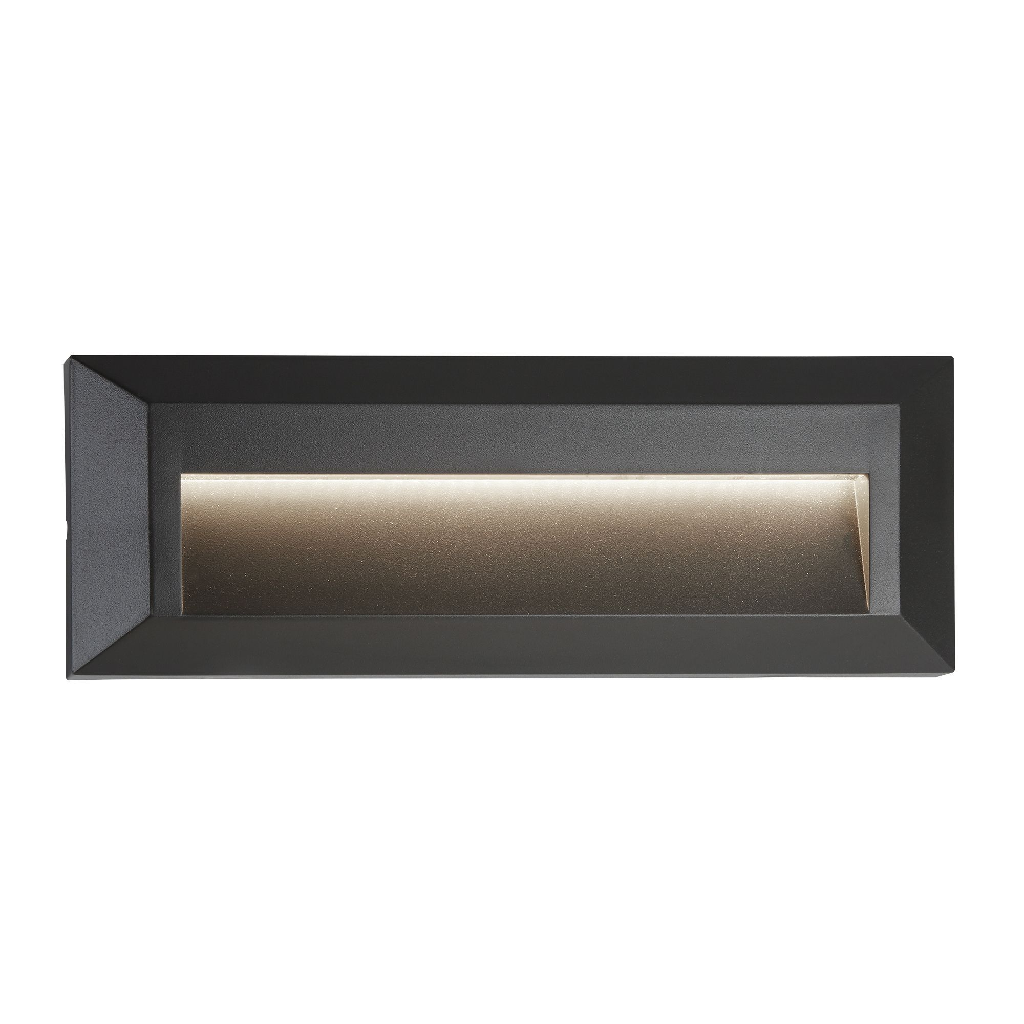 Ankle Outdoor 1 Light Led Slot Wall Light Dark Grey 8732GY