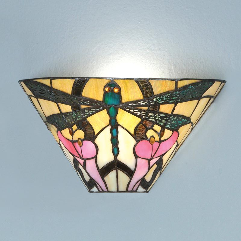 Ashton Wall Light Art Nouveau Nature Small Table Lamp T022W Tiffany style