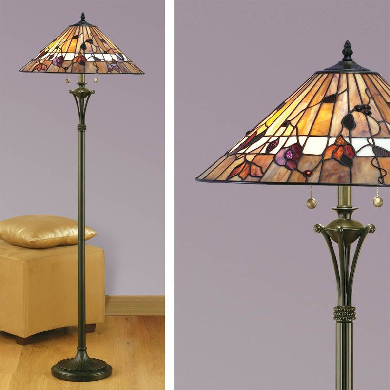 Bernwood Floor Lamp Nature Traditional Floor Lamp Tg62f