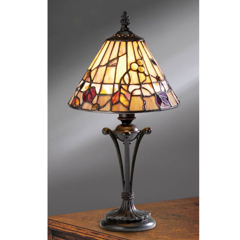 table lamp nature traditional small table lamp tg62s tiffany style. Black Bedroom Furniture Sets. Home Design Ideas