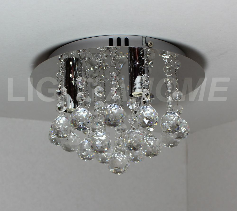 Hanna 3-light EXCLUSIVE DESIGN Chrome & Crystal Ceiling Light 820857