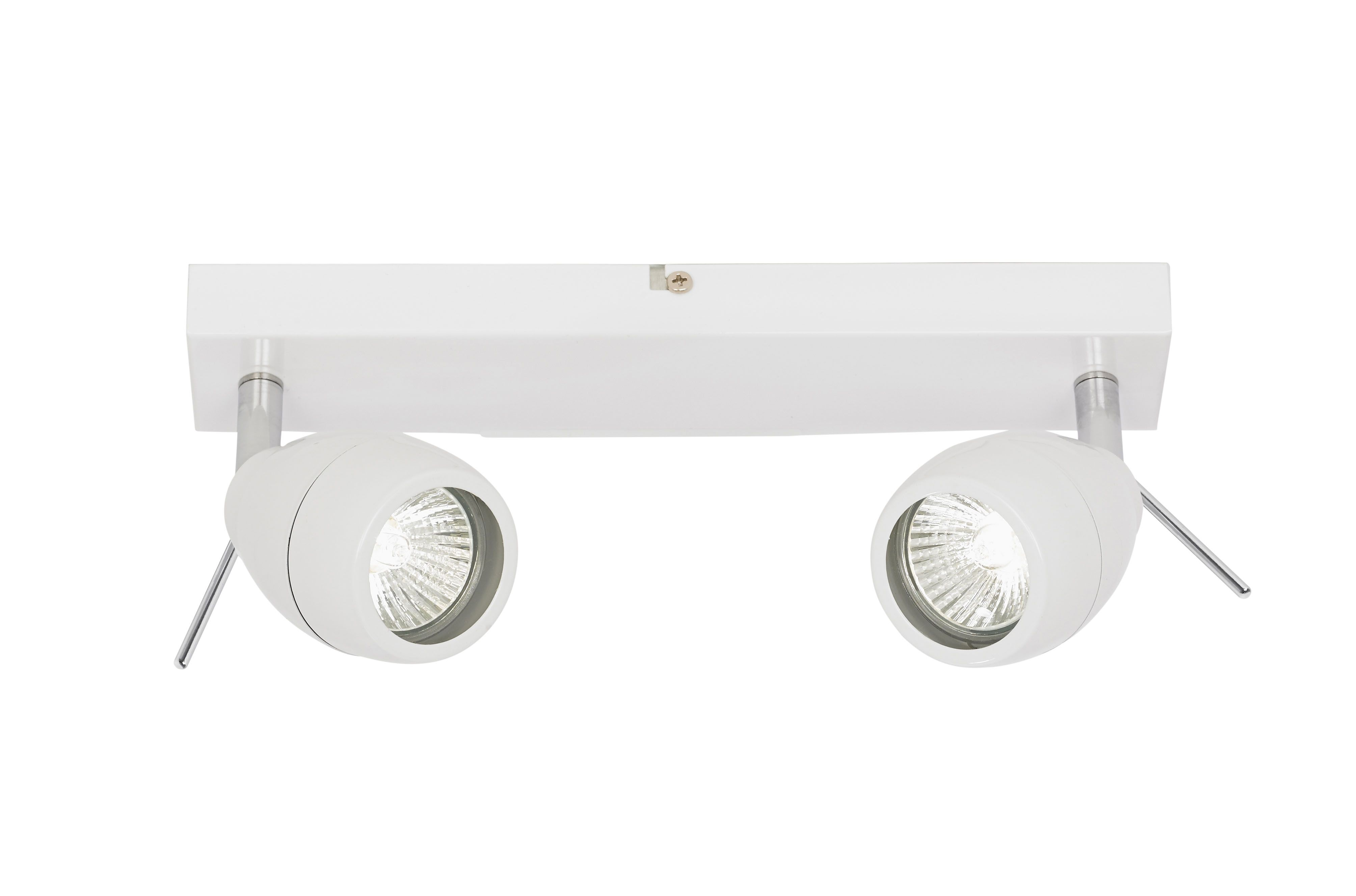 0 1 ip44 two light spotlight bxel 20094 17 class 2 double insulated