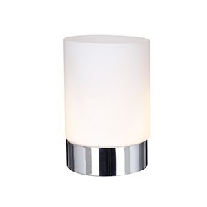 1 light chrome touch table lamp opal white glass shade 9791cc 1 light chrome touch table lamp opal white glass shade 9791cc class 2 double insulated aloadofball Gallery