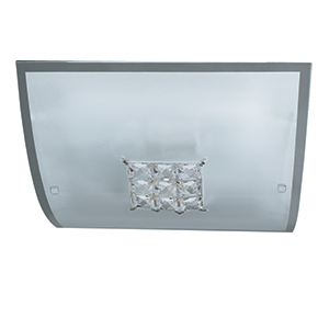 kitchen light fitting 30cm square flush fitting square detail 2150 30 2150