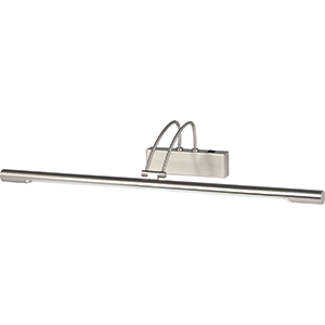 66Cm Satin Silver Picture Light 8343Ss