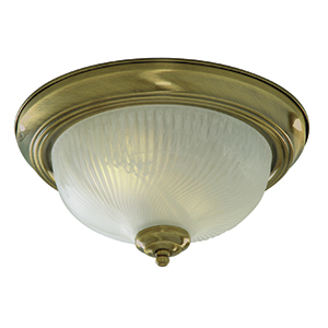 Antique Brass Flush Fitting 7622-11Ab
