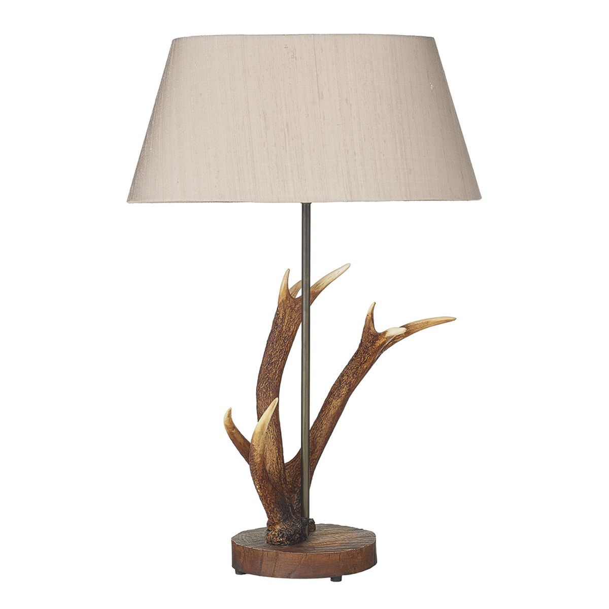 Antler Lamp Small Table Lamp Base Only ANT4129 (Hand Made, 7 10 Day  Delivery)
