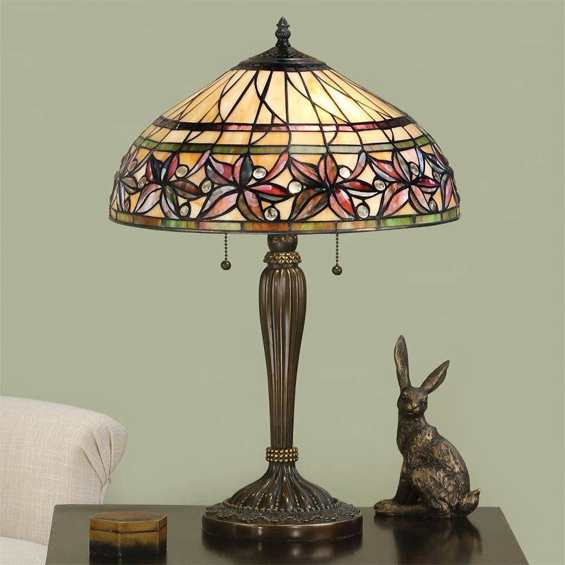 Ashtead Table Lamp T046T (Tiffany style)