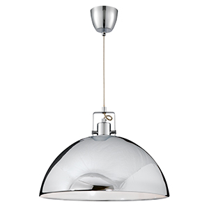 Chrome 1 Light Dome Pendant (Class 2 Double Insulated) Bx9140Cc-17
