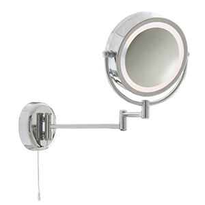 Chrome Extendable Mirror X 3 Magnification 11824