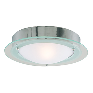 Chrome Flush Bathroom Light 3108Cc