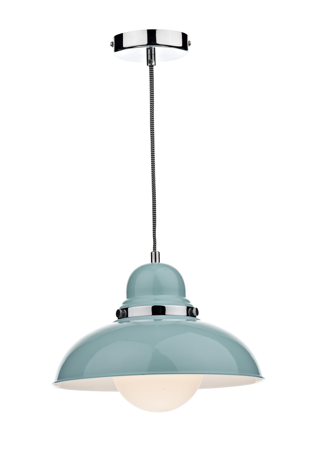Dynamo 1 Light Pale Blue Pendant Ceiling Cl 2 Double Insulated Bxdyn0123 17