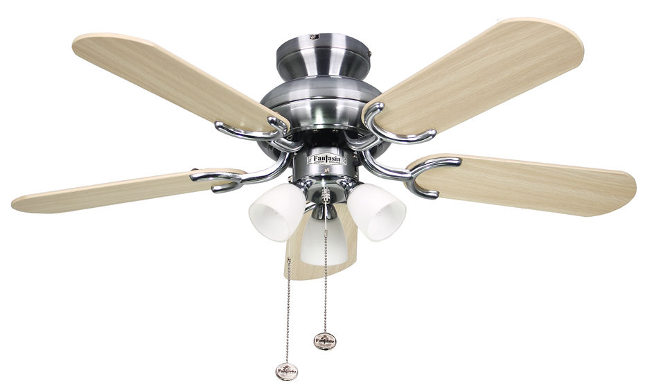 Fantasia amalfi fan 36 stainless steel ceiling fan light 111733 fantasia amalfi fan 36 stainless steel ceiling fan light 111733 mozeypictures Choice Image