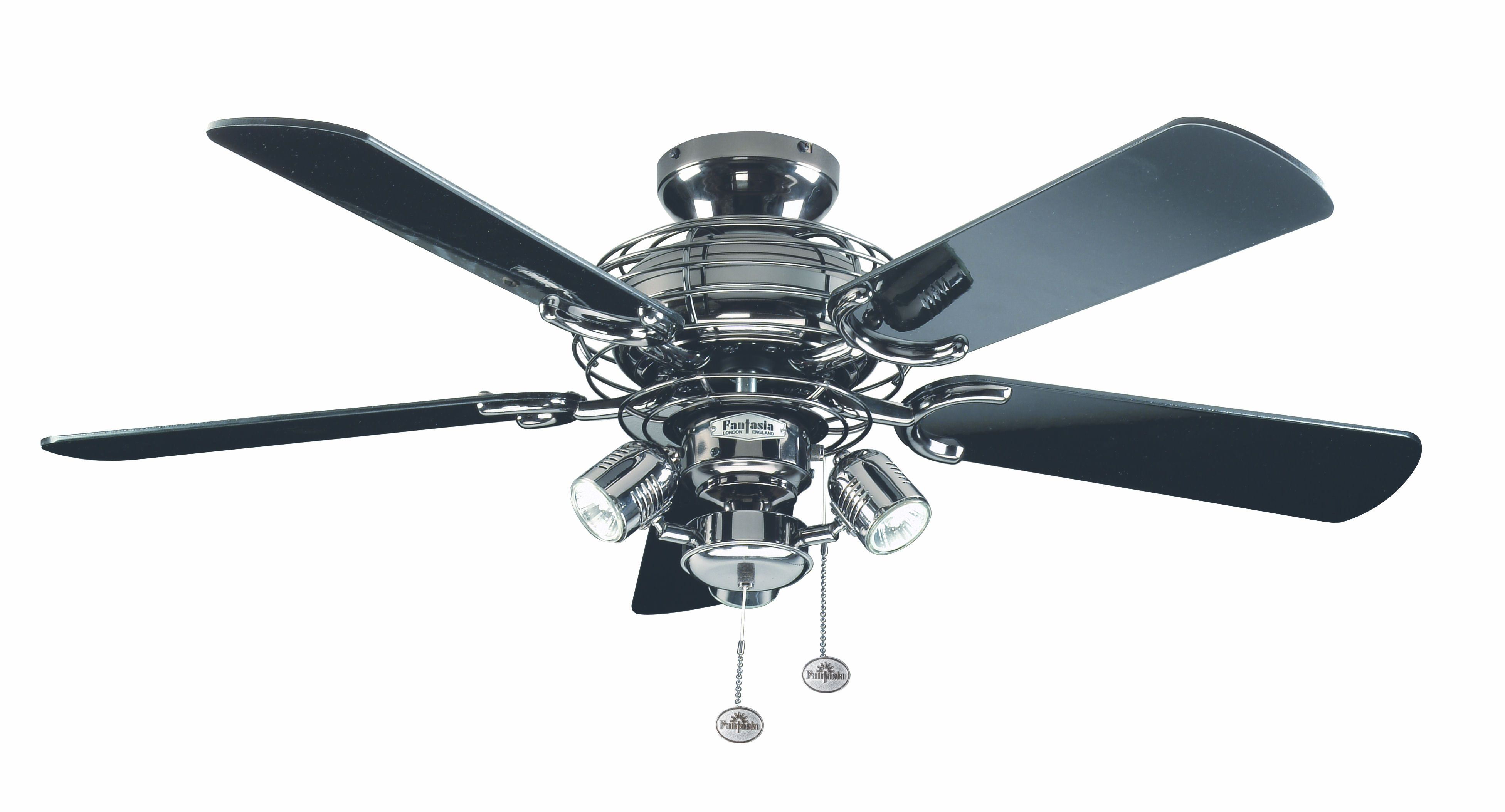 magnifying emerson steel tilo cfm shown lights lighting fan ceiling blade finish item inch in glass brushed capitol image