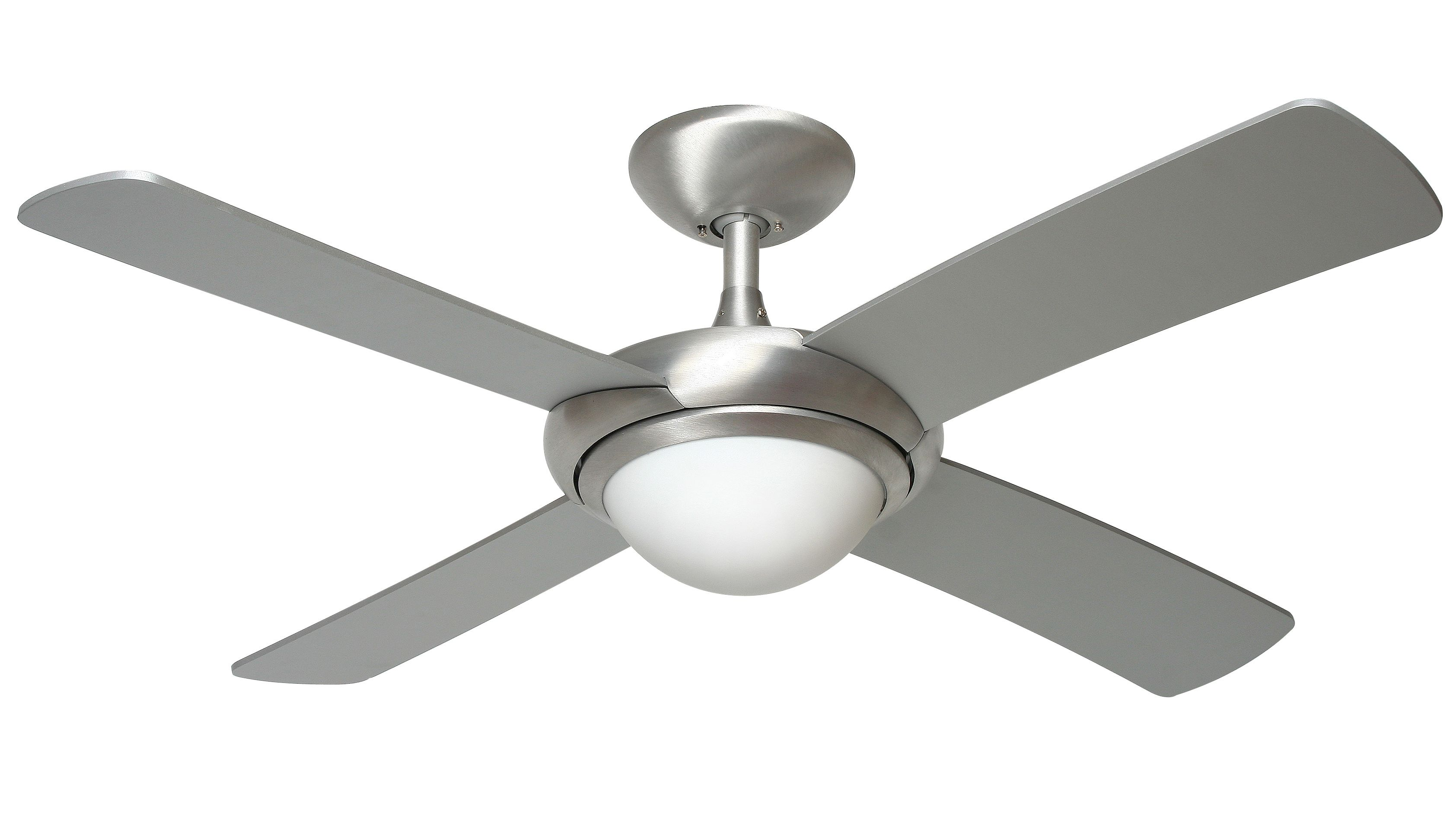 Fantasia orion 44 brushed aluminium ceiling fan remote control light fantasia orion 44 brushed aluminium ceiling fan remote control light 115311 aloadofball