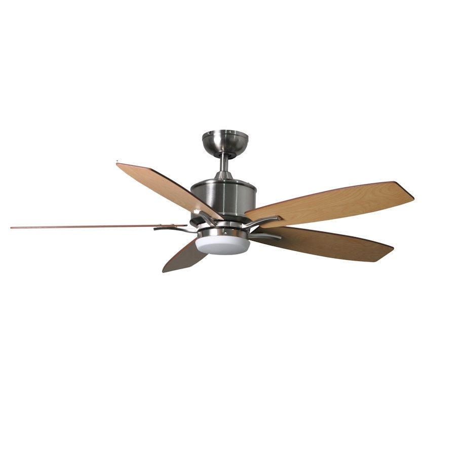 "Fantasia Prima Elite LED 52"" Brushed Nickel Ceiling Fan + Remote 117179"