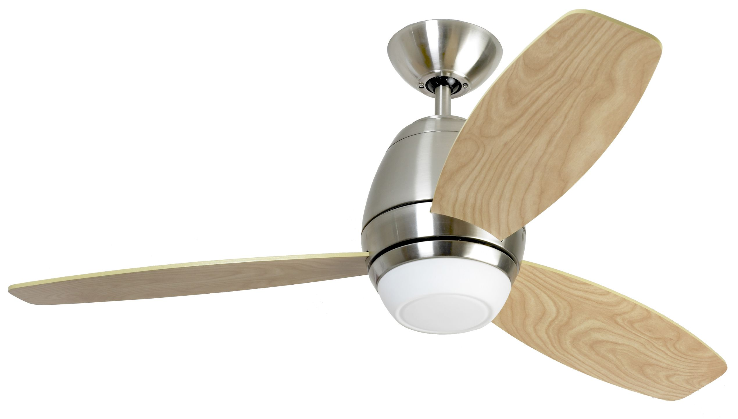 Fantasia Trinity 44 Brushed Nickel Ceiling Fan Remote Control Light 114826