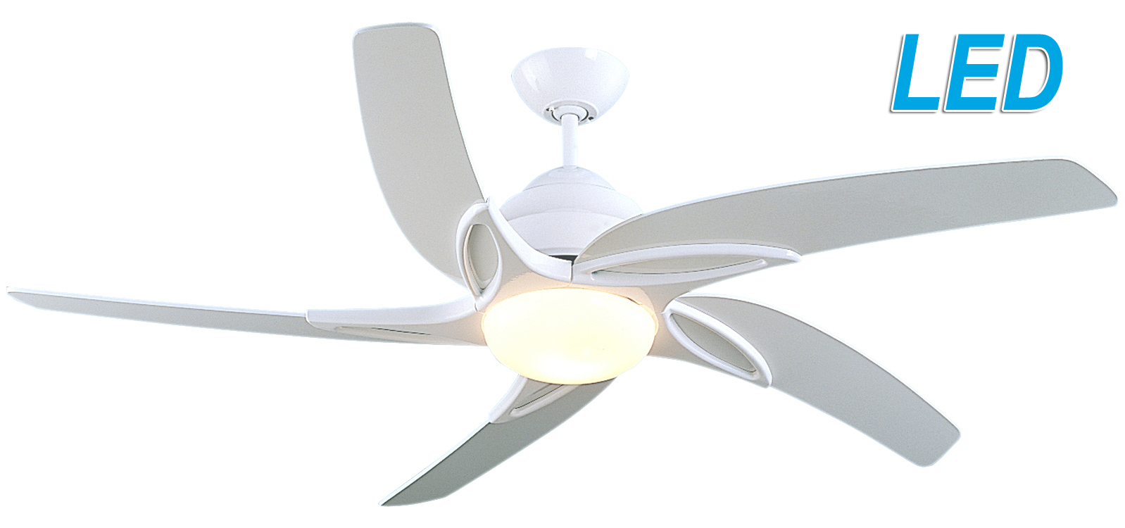 Fantasia viper 44 white ceiling fan remote control led light 115601 fantasia viper 44 white ceiling fan remote control led light 115601 aloadofball Gallery
