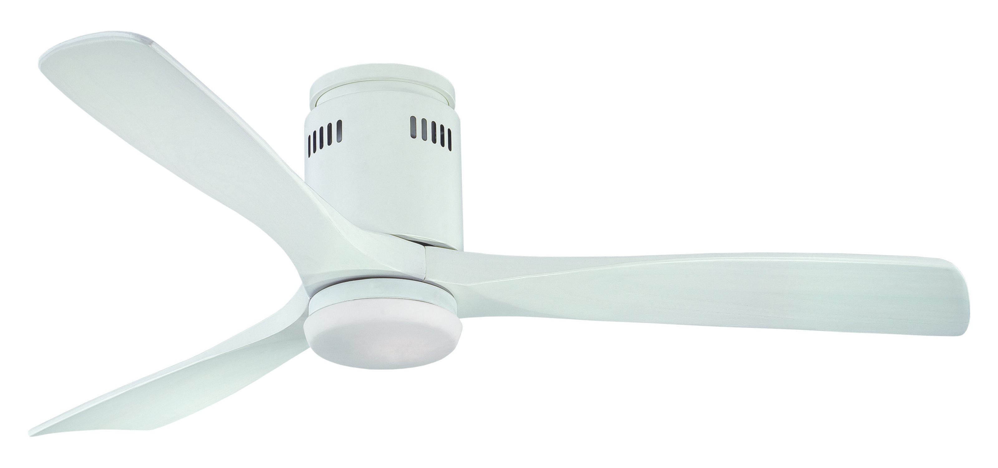 Fantasia Zeta Elite 52 Matt White Ceiling Fan Remote Control Light