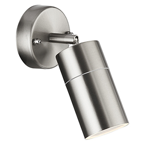 Led 1 Light Outdoor Directional Wall Light. Ip44 6411Ss