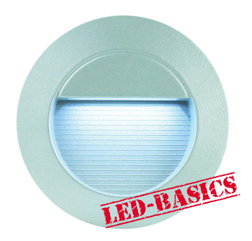 LED-Basics, Outdoor Lighting, Outdoor LED Wall Light, Round
