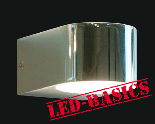 LED-Basics, Wall Lighting, Sumatra LED Up/Down Wall Light