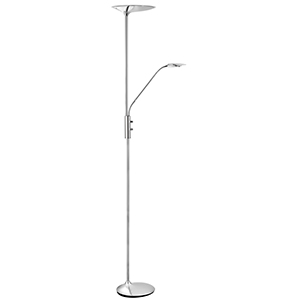 Led Chrome 5W + 10W Mother And Child Floor Lamp Lx8622Cc-17