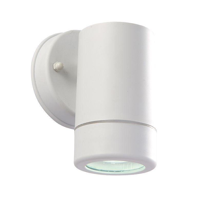 Double Insulated Outdoor Security Lights: LED White Polypropylene & Clear Polycarbonate Outdoor Wall