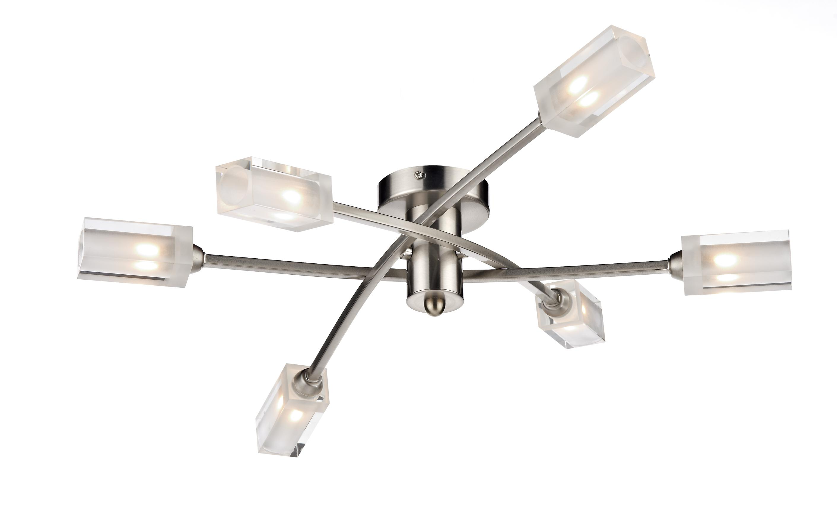 Morgan 5 light satin chrome semi flush ceiling light 820016 mor6446 morgan 5 light satin chrome semi flush ceiling light 820016 mor6446 aloadofball Choice Image