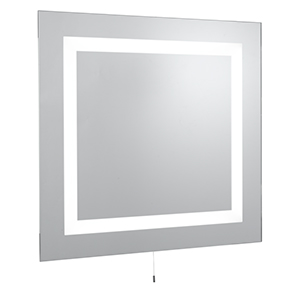 Rectangular 4 Light Mirror - Ip44 Rating 8510