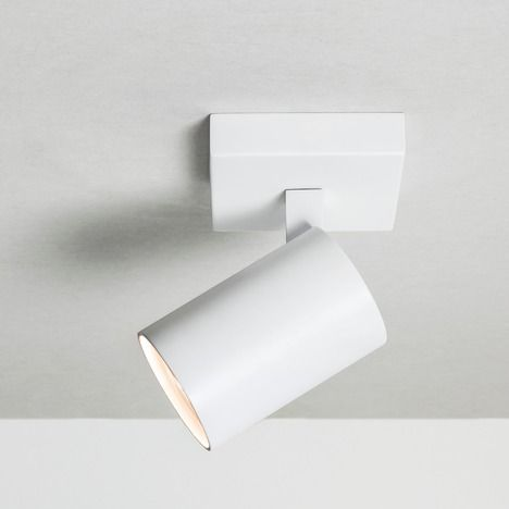 Ascoli Single 6142 Textured White Spotlight