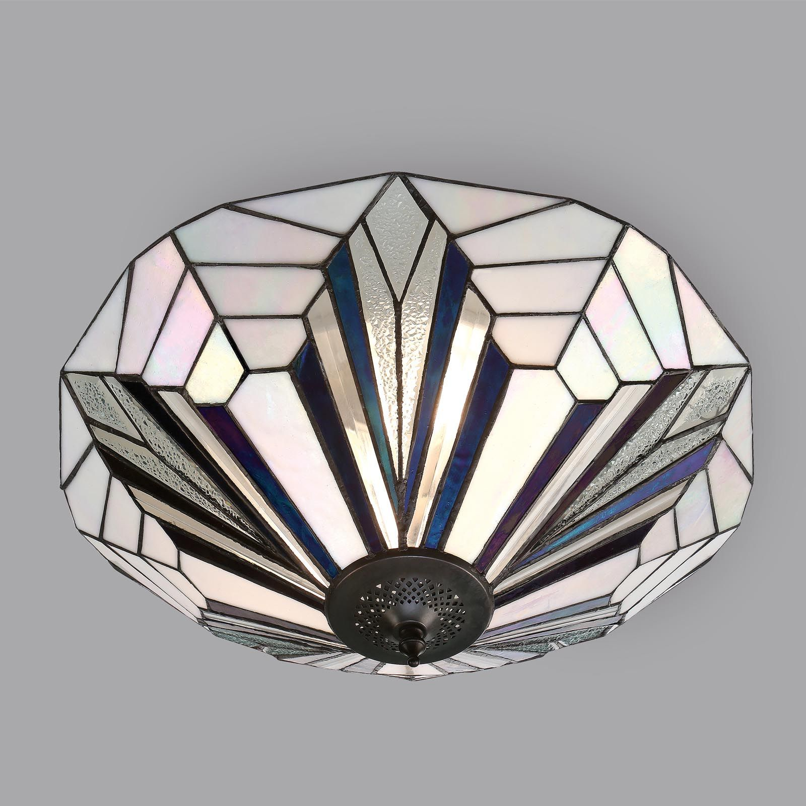 tiffany style pendant light fixture. Astoria Flush Ceiling Light (Art Deco, Fitting) T026FL (Tiffany Style) Tiffany Style Pendant Fixture