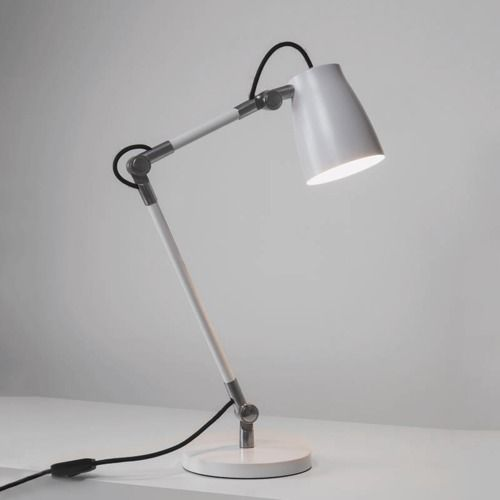 Atelier Desk Base 4563 Matt White Table Lamp