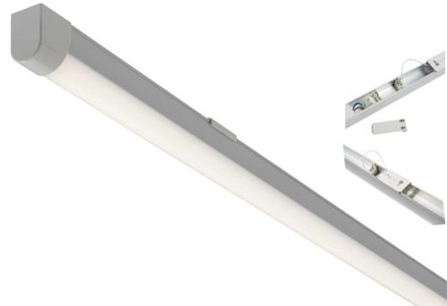 Class 2 Double Insulated LED Kitchen Ceiling Batten, 5FT 22W, 2400 Lumens 154067
