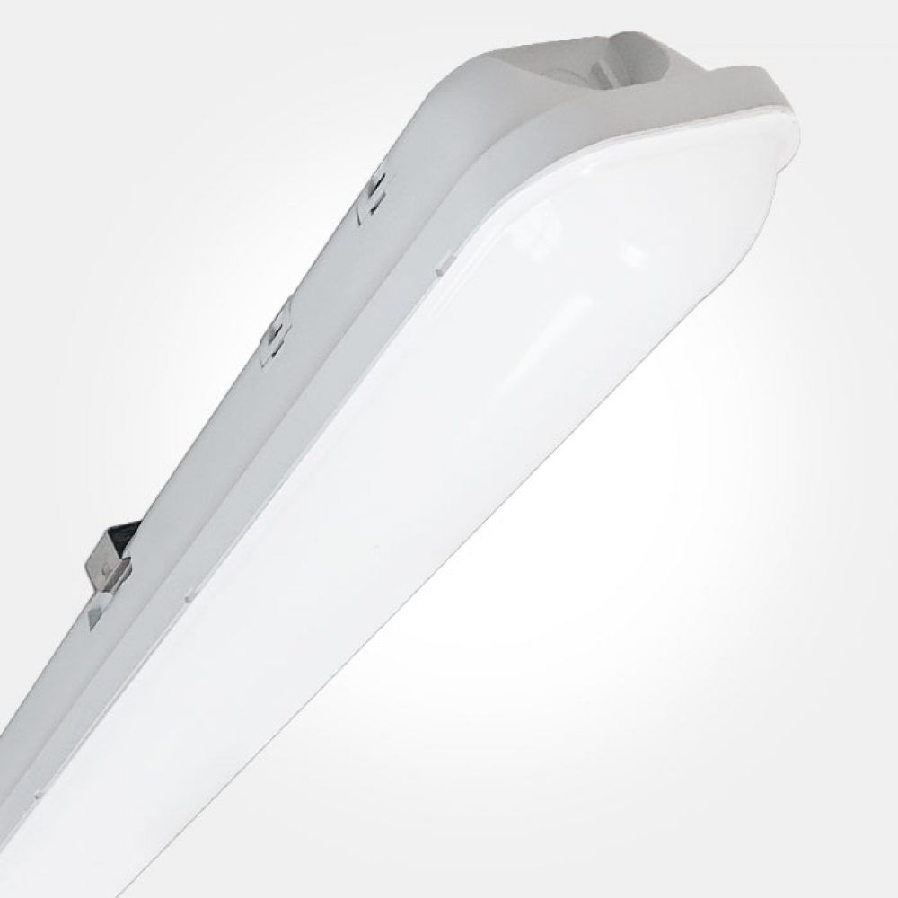 Class 2 Double Insulated LED Twin Batten, 5FT IP65 48W, 4000 Lumens 150045