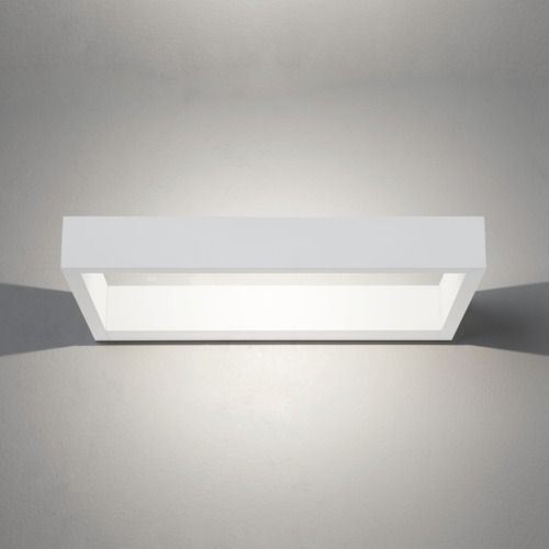 D-Light LED 955 Matt White Wall Light (LED)