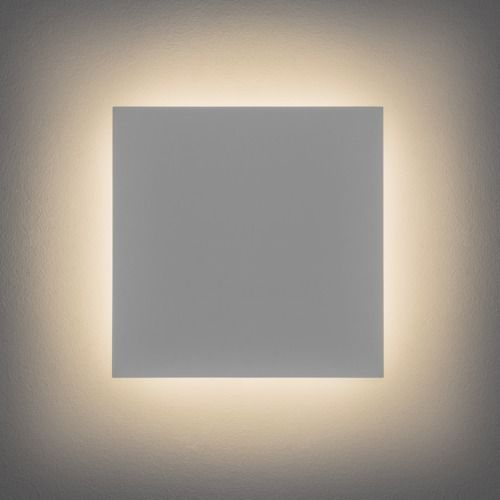 Eclipse Square 300 LED 2700K 7610 Plaster Wall Light (LED)