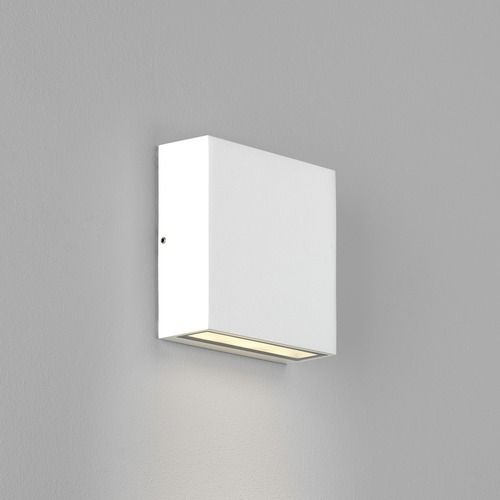 Elis Single LED 8116 Textured White Wall Light (LED)