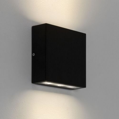 Elis Twin LED 7202 Textured Black Wall Light (LED)